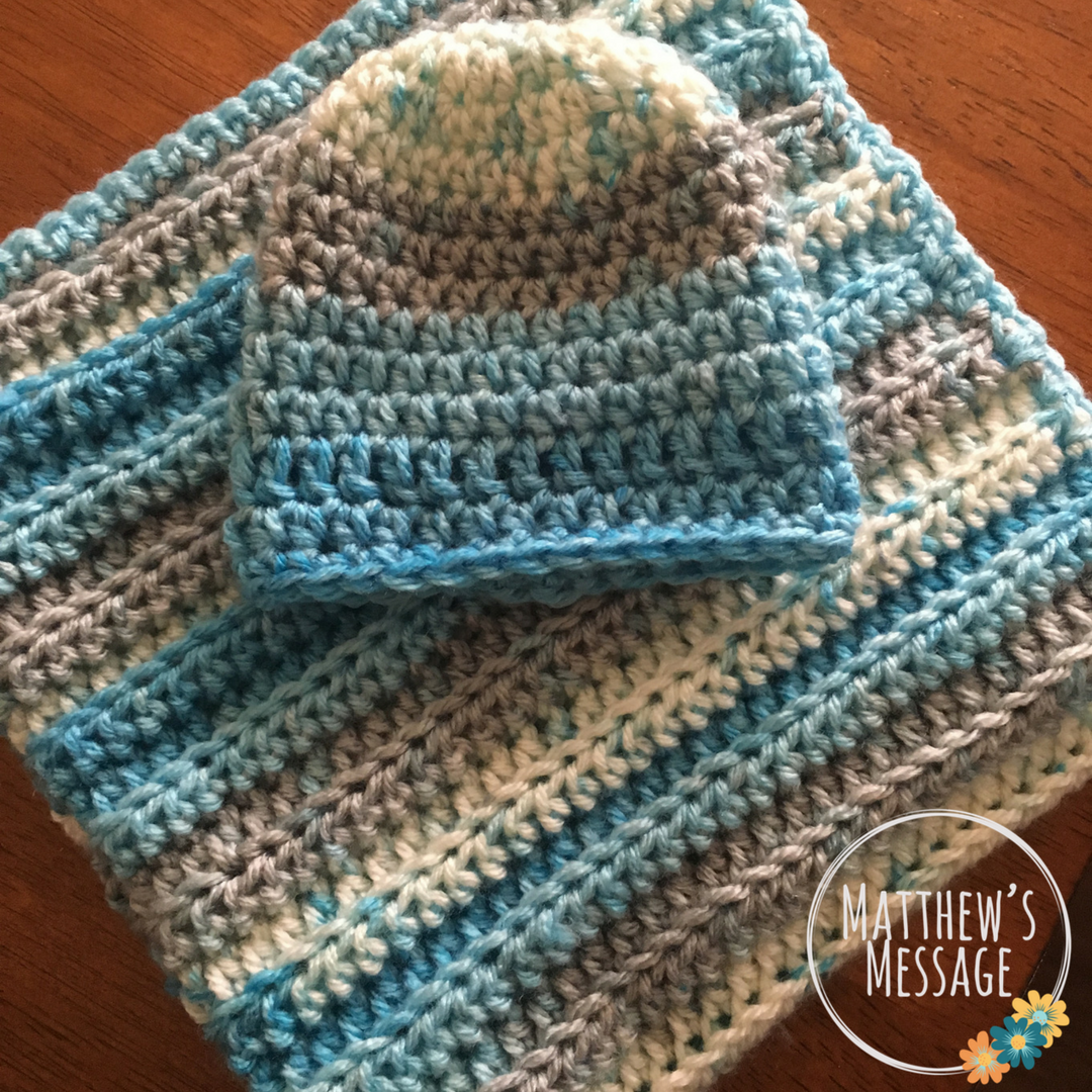 Preemie Blanket Set